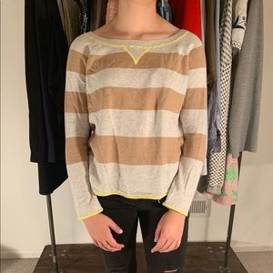 Light Stripped Sweater